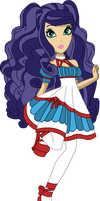 Ever After High oc - Genevieve North