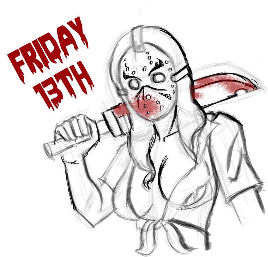 Friday 13th  by Dragonsmasher