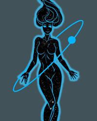 cosmic girl 2.0 by Dragonsmasher
