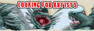 LOOKING FOR ARTISTS by HowloweenCanada