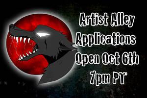 Artist Alley opens Oct 6 by HowloweenCanada