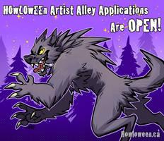 Howloween Artist Alley Applications OPEN! by HowloweenCanada