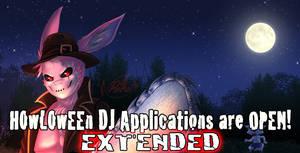 DJ Applications Extended! by HowloweenCanada