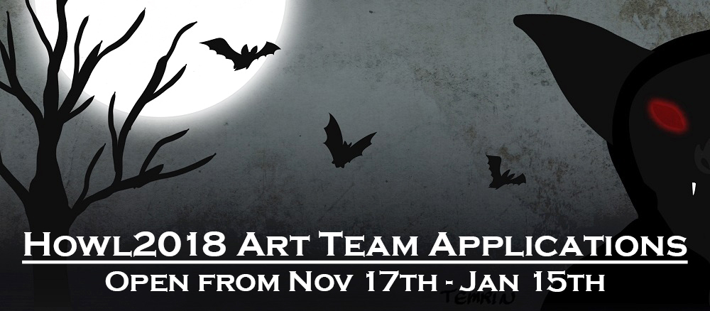 Howloween 2018 - Art Team Applications OPEN by HowloweenCanada