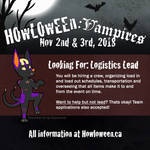 Howl 2018: Looking for a Logistics Lead