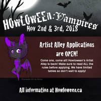 Howl 2018 - Artist Alley Application Open!