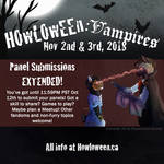 Panel Submissions - EXTENDED!