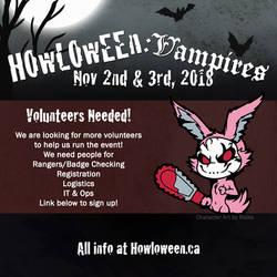 HELP NEEDED! Looking for volunteers! by HowloweenCanada