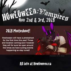 Howl 2018 Photoshoot by HowloweenCanada