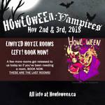 Howl 2018 - LAST HOTEL ROOMS!