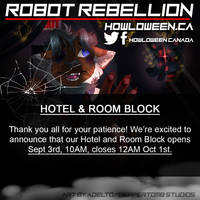 Howl 2019 Hotel/Room Block Date