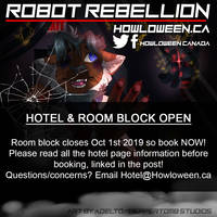 Howl 2019 Hotel  Room Block