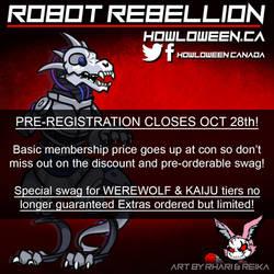 Pre-Reg Closes Oct 28th