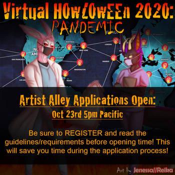 Howl 2020 Artist Alley