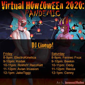 Howl 2020 DJ Lineup