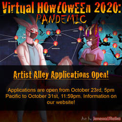 Howl 2020 Artist Alley OPEN