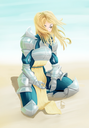Conceptual Metal Armor by GLDraws