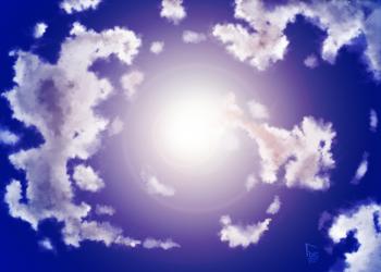 Sky practice 1 by GLDraws