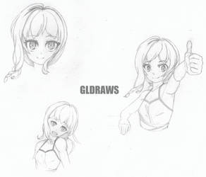 Sketch Faces by GLDraws