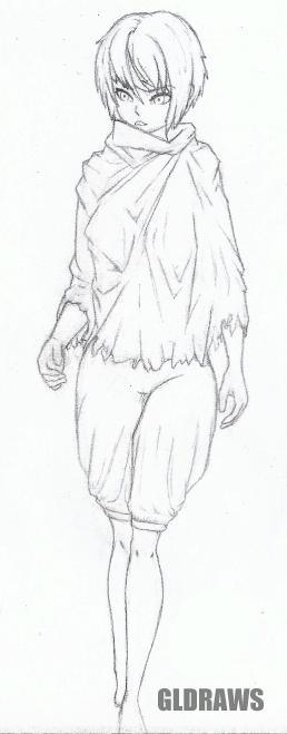 Eira sketch by GLDraws