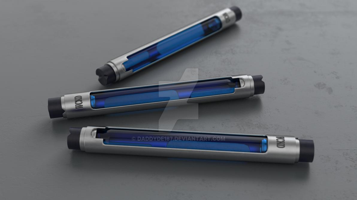 Wckd Syringe Blue by DaddyDe187