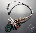 Dragonfly necklace 2