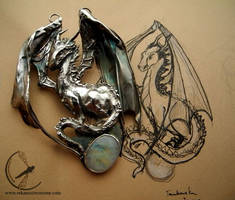 Dragoness necklace