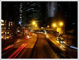 Hong Kong - Never Sleeping by Baaldagg