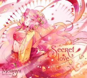 Secret Heart Hibiscus - Extra art by Metanyu