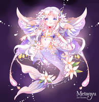 OPEN || Moonlit Lily - Lunaria Set Price Adopt by Metanyu