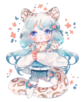 [CUSTOM] Kiinsy - C Annie - Snow Leopard by Metanyu