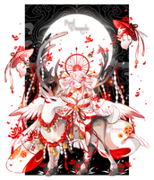 CLOSED    Constellangel Adopt Auction - Red Parade by Metanyu