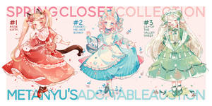 [3/3 OPEN] Spring Closet Adopt Auction by Metanyu