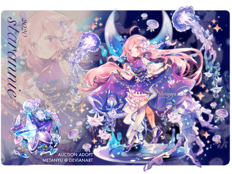 CLOSED || Melody of the Starry Sea - Adopt Auction