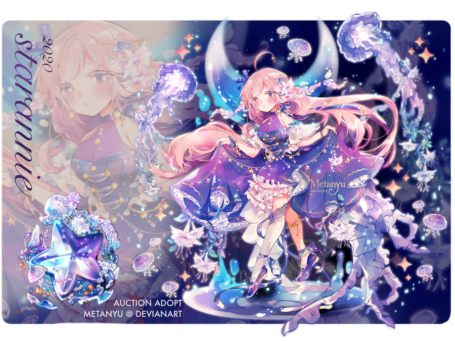 CLOSED    Melody of the Starry Sea - Adopt Auction