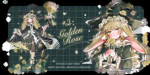 [CLOSED] Adopt Auction #2 : Golden Rose