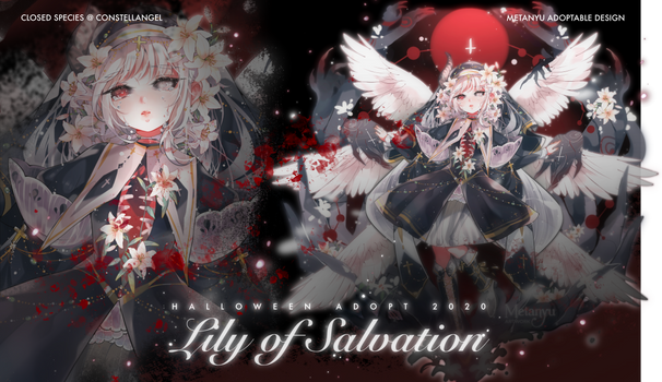 [CLOSED] Lily of Salvation - CA Adopt Auction