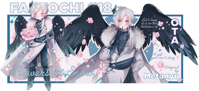 [closed] Flowers in Snow [fantochi #18]