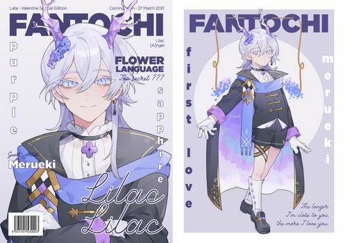 [closed] Lilac Angel [#23 GD Fantochi]