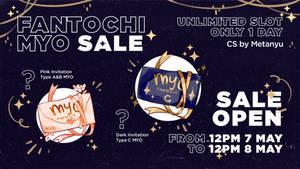 [OPEN] Fantochi MYO 24hrs Sale ! by Metanyu