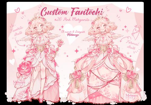 [custom] Pink Morganite - Fantochi CS