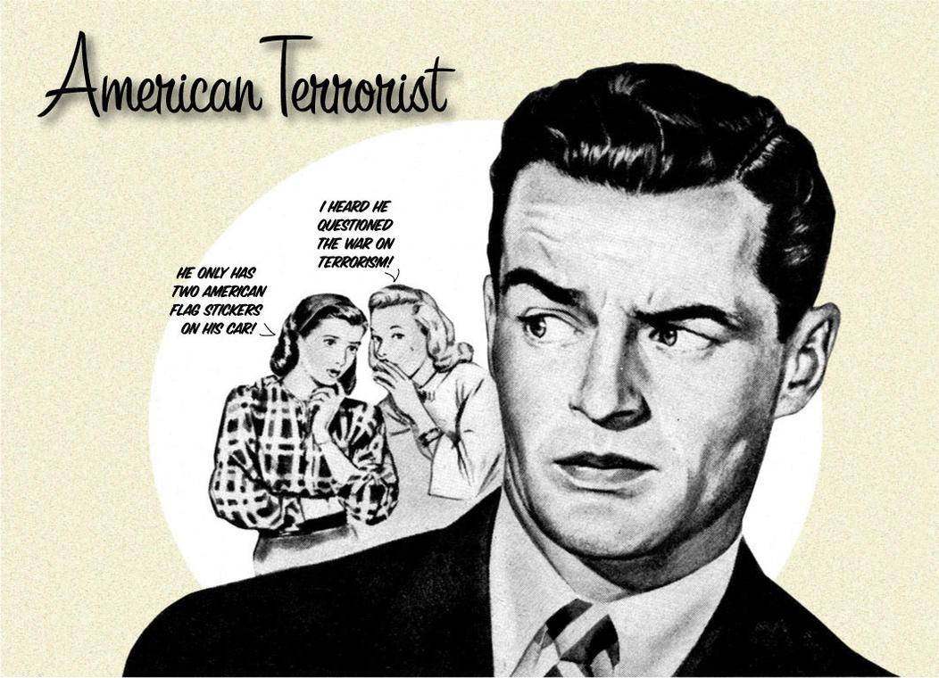 American Terrorist by anubis9
