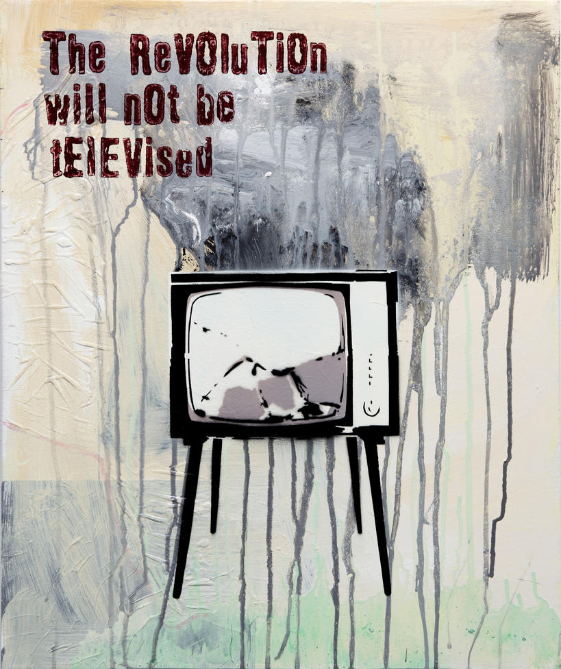 Image result for the revolution will not be televised