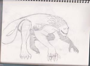 Dragon King sketch 2