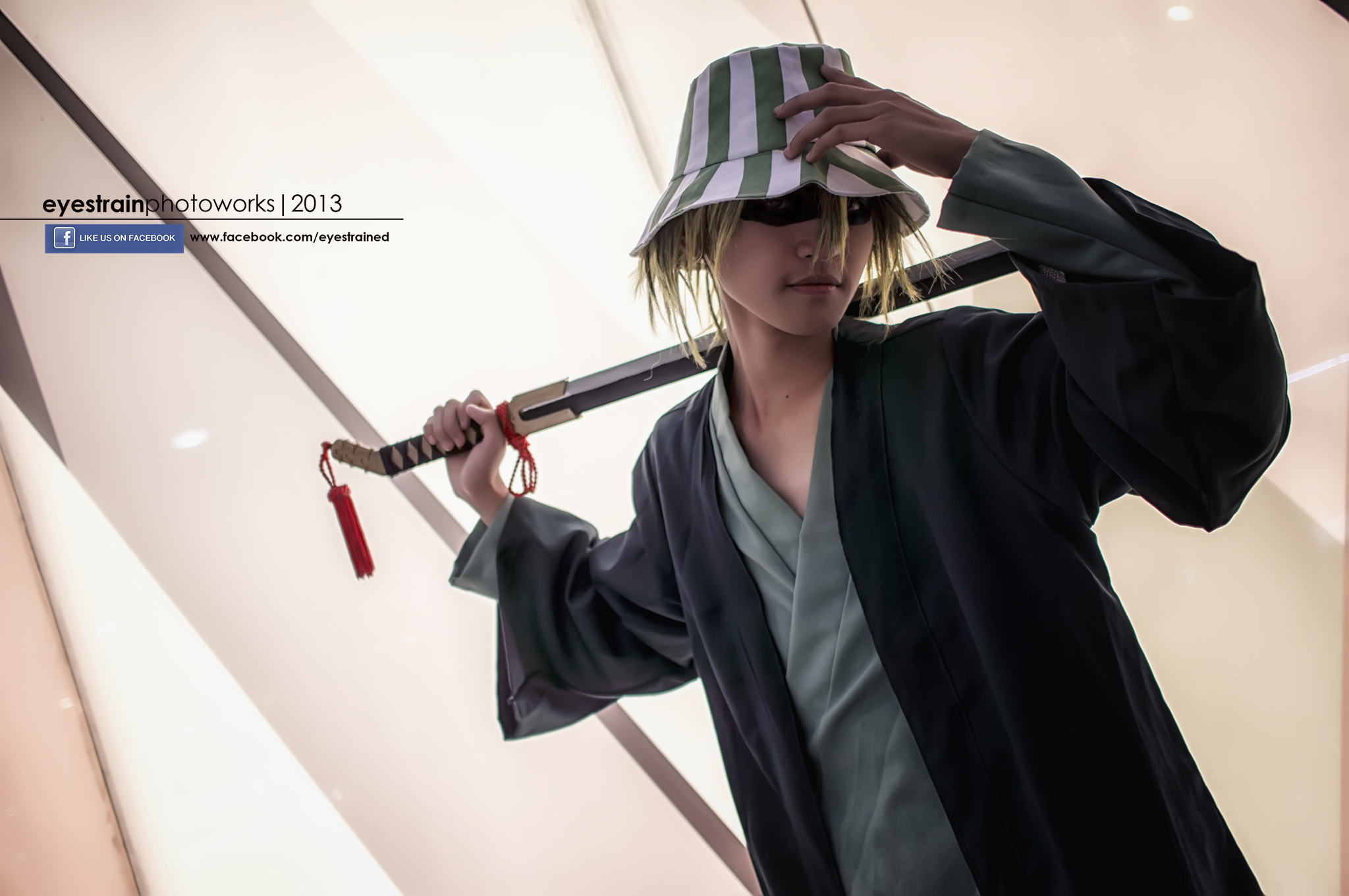 cosplay: Urahara Kisuke - Bleach by riskbreaker on DeviantArt