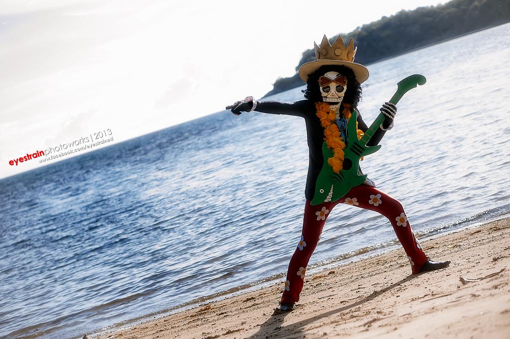 [cosplay] Soul King Brook - One Piece by riskbreaker