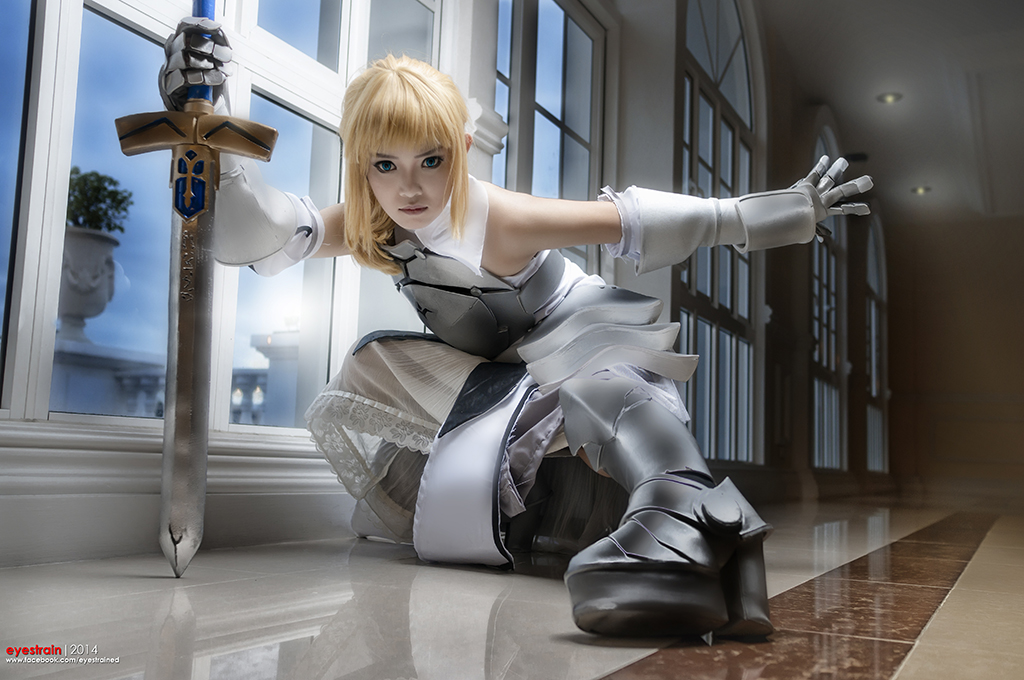 Saber Lily - Fate Unlimited Codes by riskbreaker