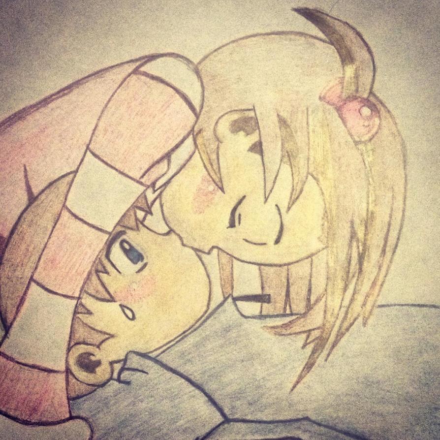 Manga couple by Minxylilmoo