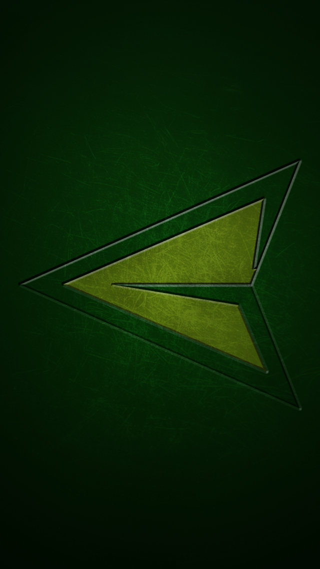 gallery for green arrow logo wallpaper