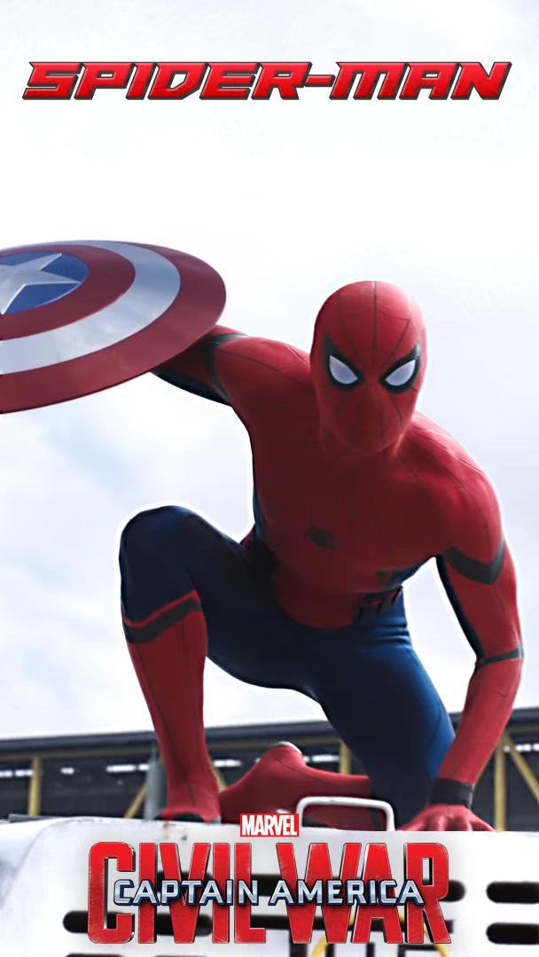 Spider Man Civil War IPhone Wallpaper By ItsIntelligentDesign
